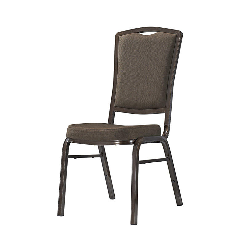 Strong Aluminum Farme Fabric Upholstered Banquet Restaurant Stacking Chair