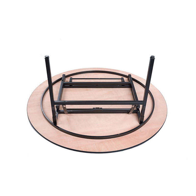 Round Folding Laminate  Table For Hotel  Banquet Restaurant YF-001
