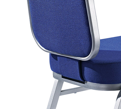 Hot Sale Navy Blue Fabric Flexible Back Stacking Hotel Banquet Conference Chair-7