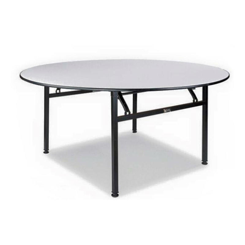 Round Folding Laminate  Table For Hotel  Banquet Restaurant YF-001-1