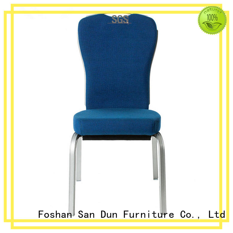Hot Sale Hospitality Rocking Back Auminum Stacking Chair YB-005