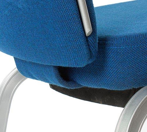 Hot Sale Hospitality Rocking Back Auminum Stacking Chair YB-005-3