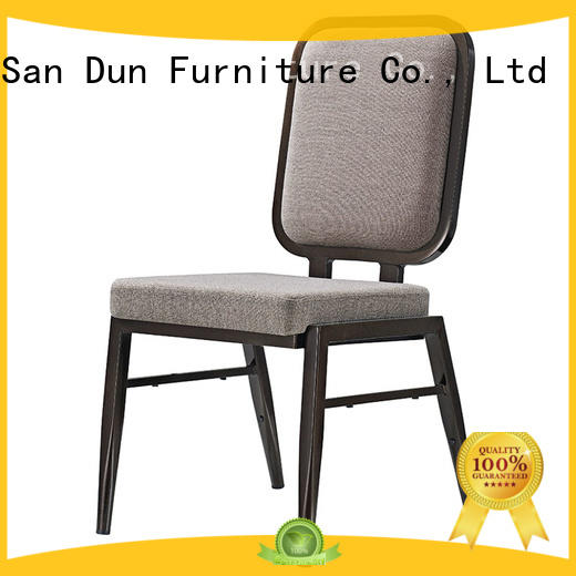 Classic Square Back Design Aluminum Hotel Banquet Chair YD-1028