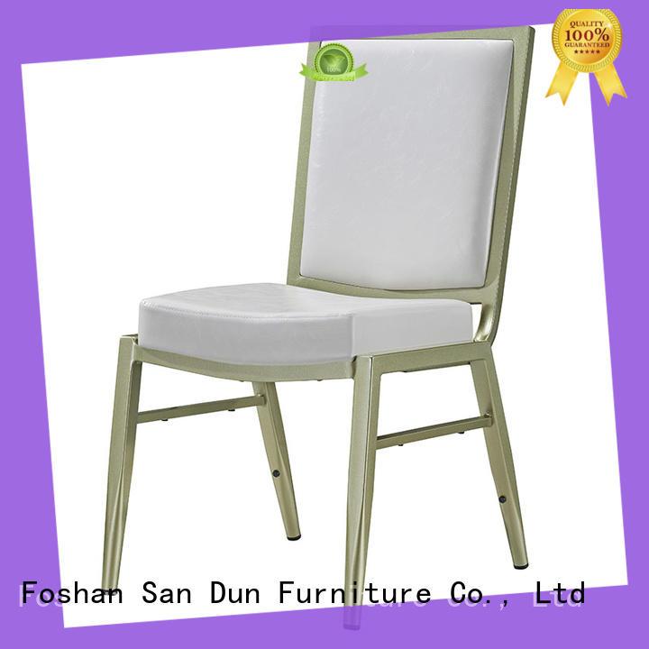 alloy classic San Dun Brand aluminium dining chairs