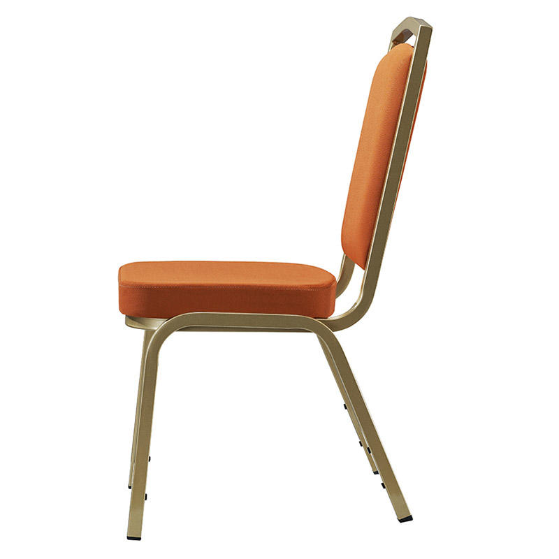 Wholesale Aluminum Orange Fabric Office Meeting Chair YD-1020