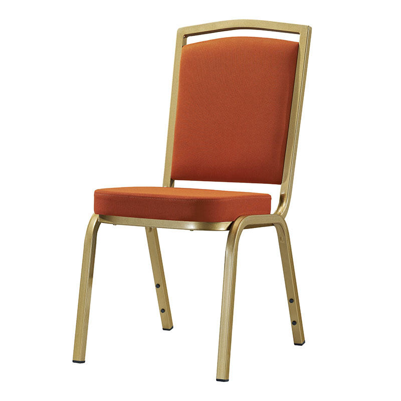 Wholesale Aluminum Orange Fabric Office Meeting Chair YD-1020