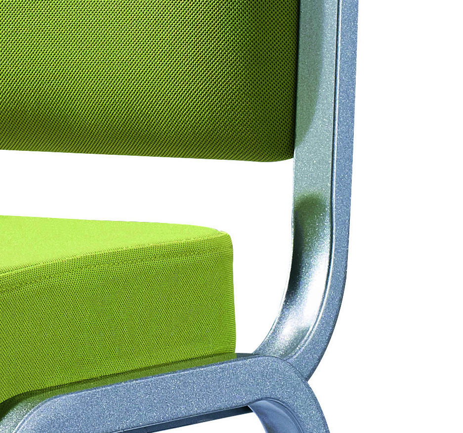 Healthy Green Fabric Stacking Aluminum Office Conference Room Chair YD-1021