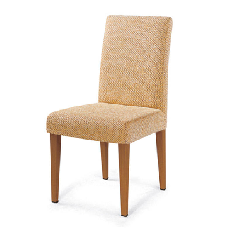 DETACHABLE FABRIC UPHOLSTERED RESTAURANT WOODEN CHAIR #YA-002