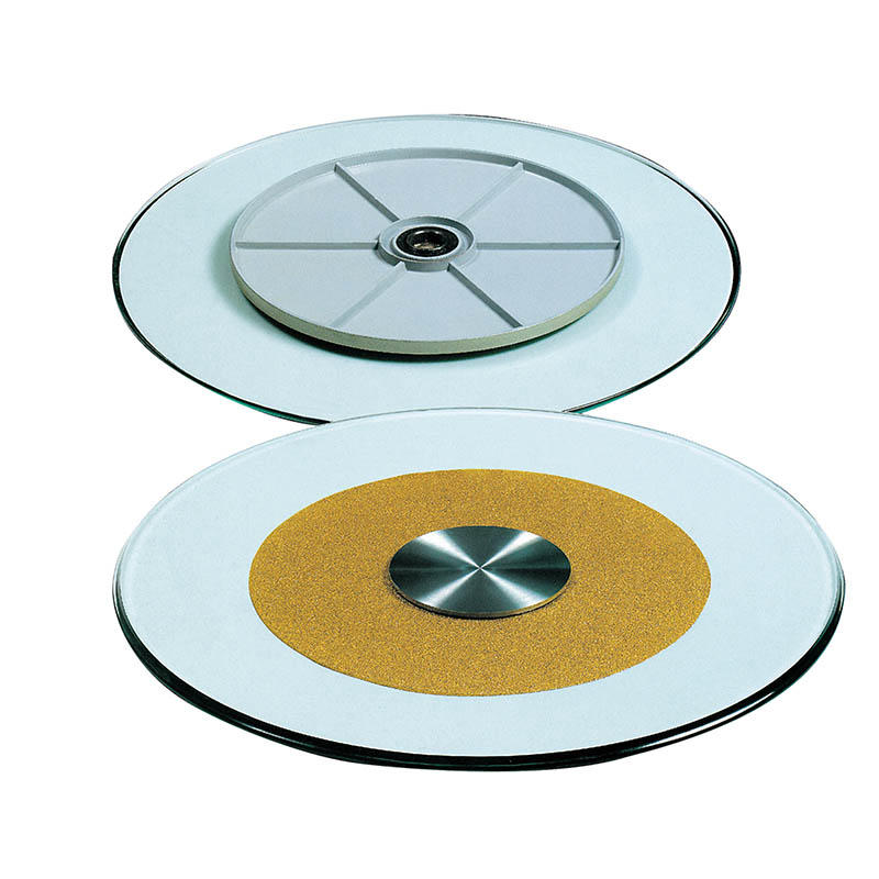 TEMPERED GLASS TOP LAZY SUSAN FOR HOTEL RESTAURANT #YH-002