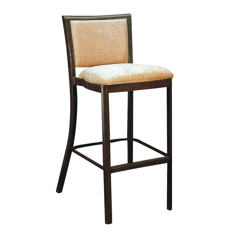 BLACK PAINTING BAR STOOL WESTERN-STYLE RESTAURANT BAR STOOL #YA-064