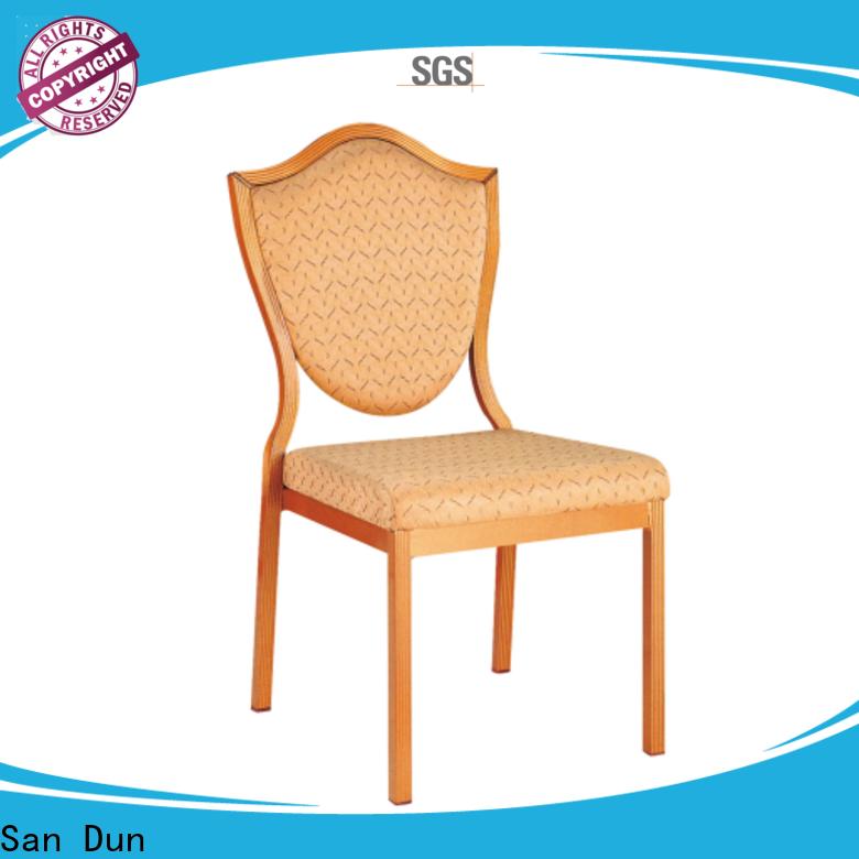 San Dun new aluminum dining chair best manufacturer bulk buy