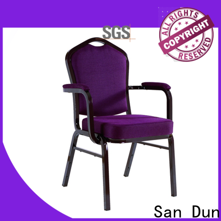 San Dun stable cheap aluminium chairs company for promotion