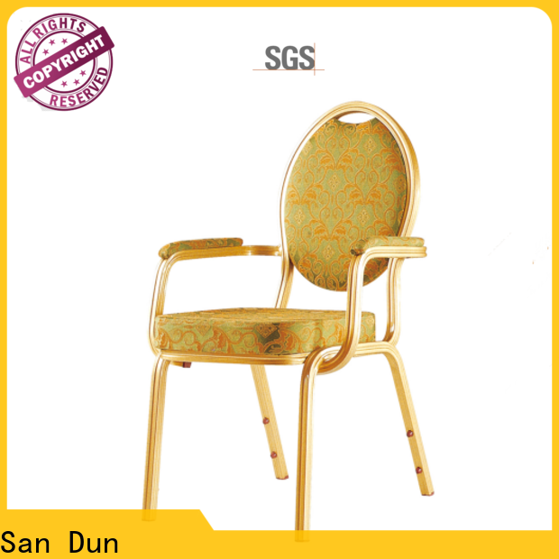 durable lightweight aluminum chairs supply for restaurant