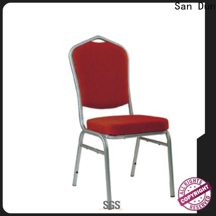 San Dun cost-effective aluminium chair cushions company for hotel banquet