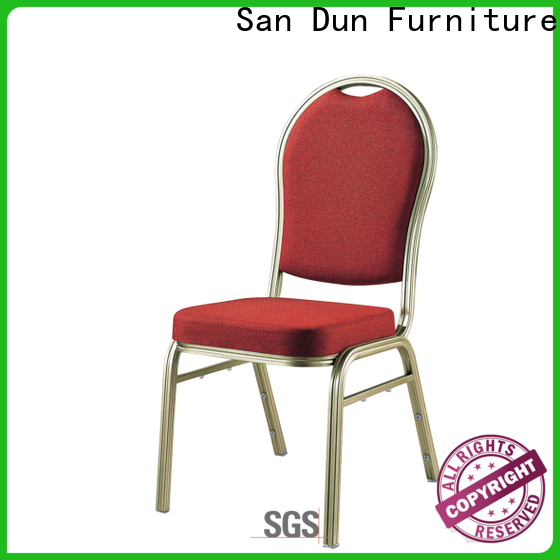 San Dun aluminium dining chairs company for promotion