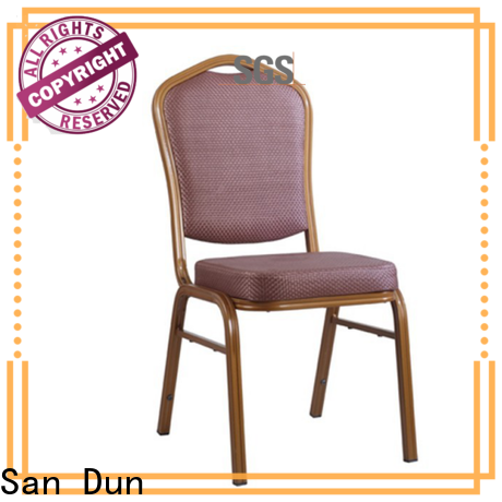San Dun aluminium chair directly sale for party hall