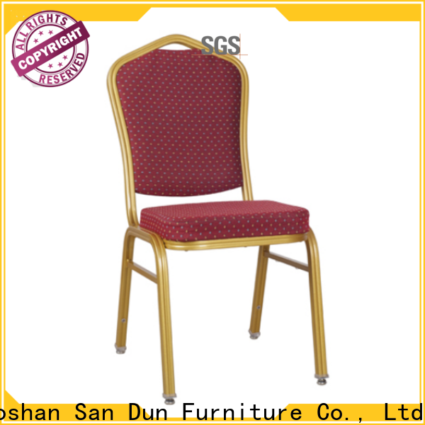 San Dun aluminum chairs for sale supply for hotel banquet