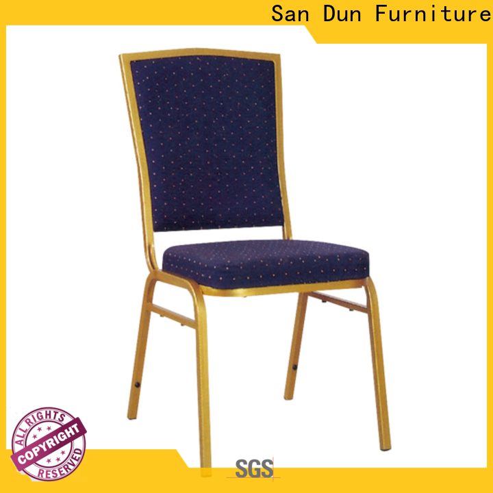 high-quality metal chairs with cushions from China for sale