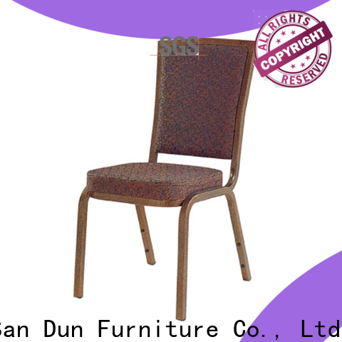 San Dun best price stackable metal chairs directly sale for coffee shop