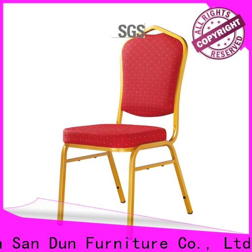 San Dun steel chair for restaurant company for promotion