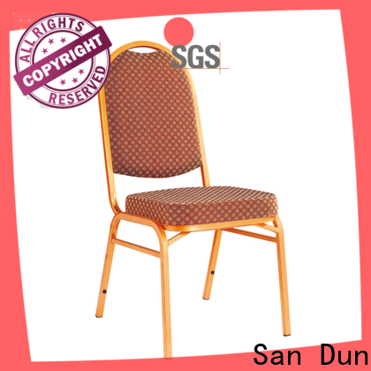San Dun cheap steel chairs directly sale for coffee shop