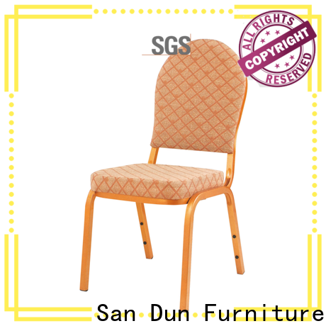 eco-friendly stackable metal chairs factory for promotion