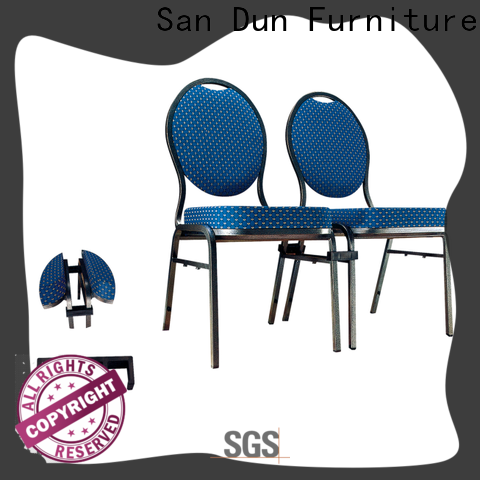 San Dun top quality upholstered metal chair inquire now for coffee shop