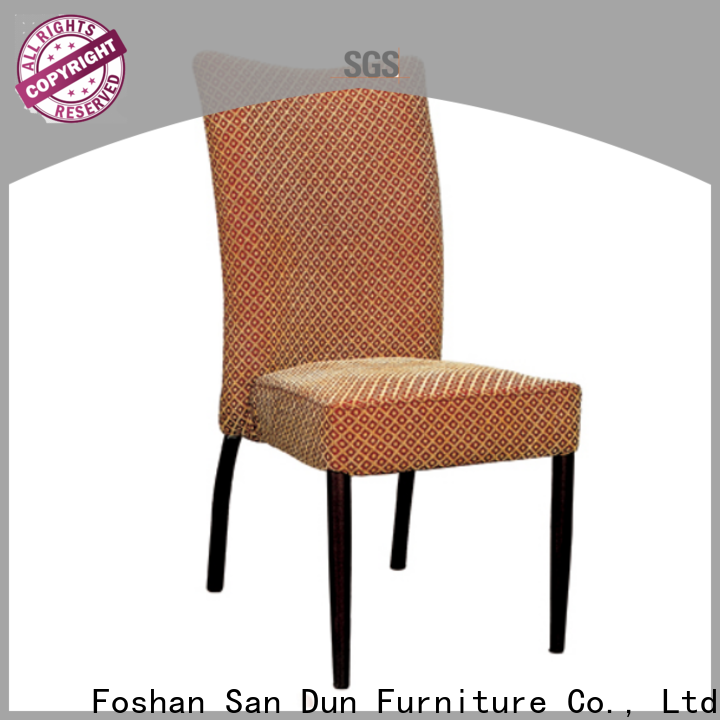 San Dun metal chairs with cushions best supplier for church