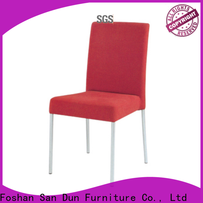 San Dun stackable metal chairs best supplier for sale
