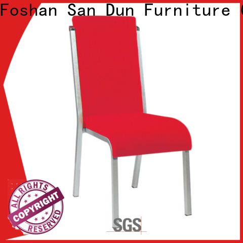 San Dun new steel restaurant chairs factory direct supply for cafes