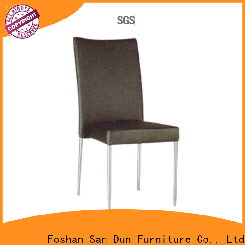 San Dun stackable steel chairs directly sale for promotion
