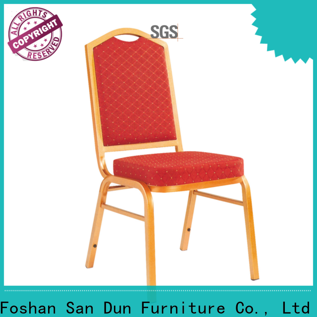 San Dun modern steel chair supplier for church