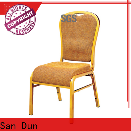 San Dun vintage steel chairs factory direct supply for promotion