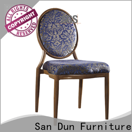 San Dun high-quality steel dining chairs cheap supplier for promotion