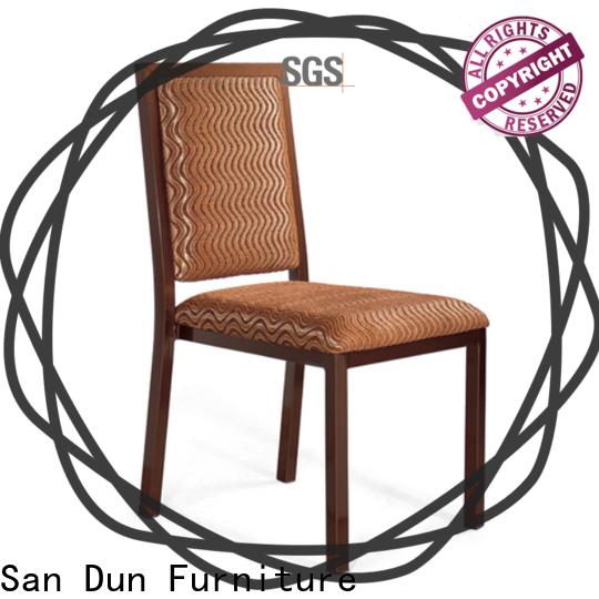 San Dun steel chair design manufacturer for cafes