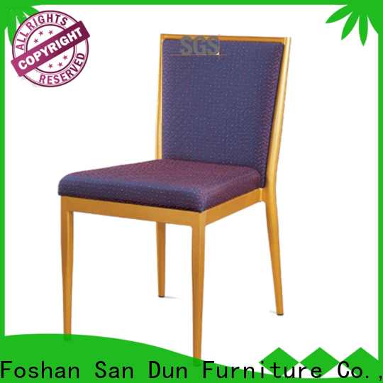 elegant cheap steel chairs from China for promotion