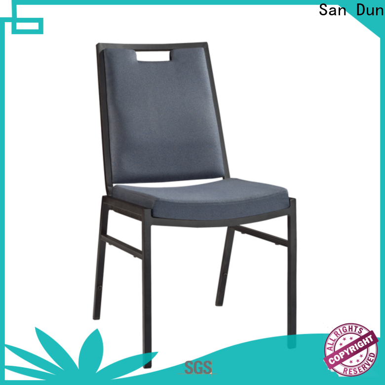 San Dun practical steel office chair supplier for restaurant