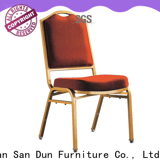 San Dun stable steel office chair factory for coffee shop
