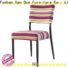 elegant metal and fabric chairs supplier for sale
