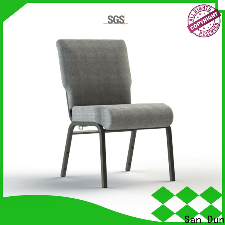 San Dun cheap stainless steel dining chairs series for cafes