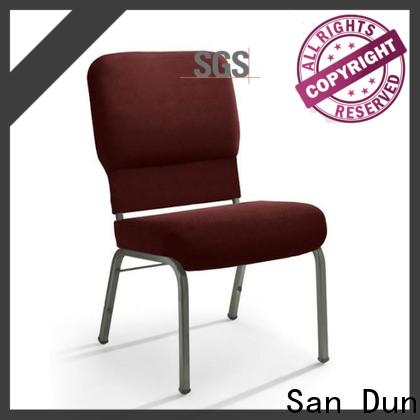 San Dun best lightweight steel chairs best supplier for promotion