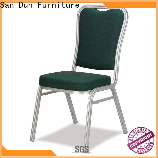 San Dun cheap aluminum chairs manufacturer bulk production