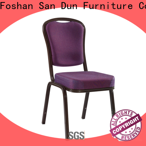 high quality aluminum banquet chair company for hotel banquet