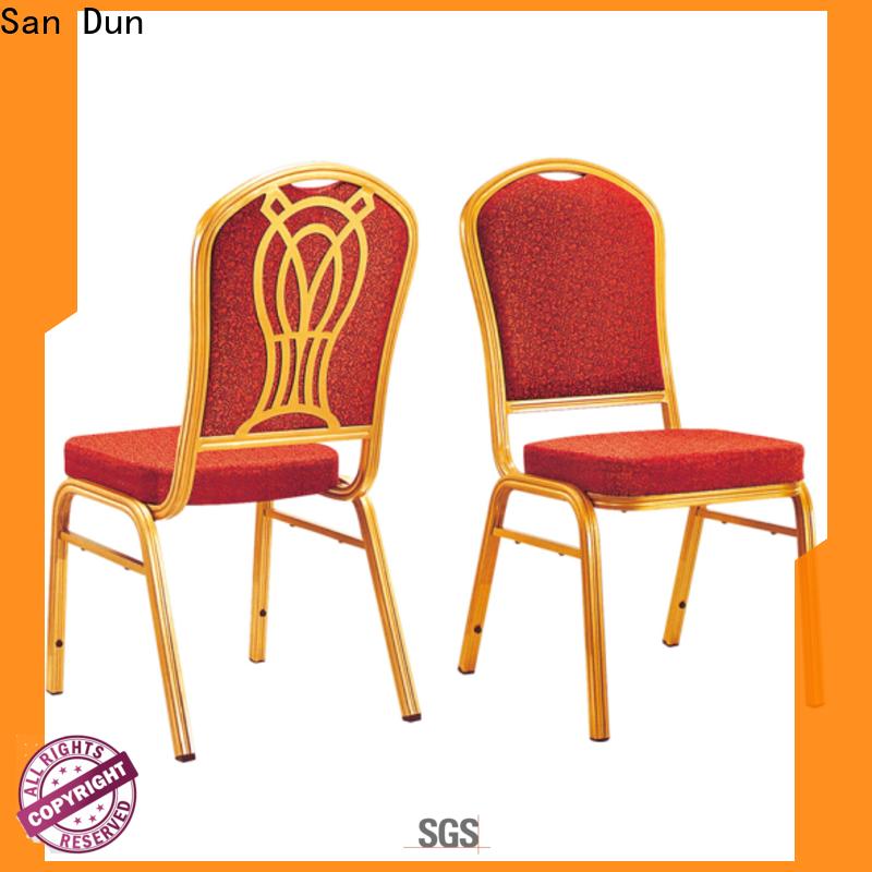 San Dun aluminium banqueting chairs series for sale