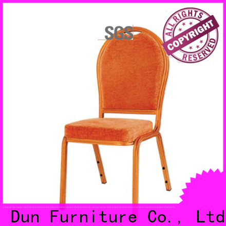 San Dun hot-sale aluminium dining chairs factory direct supply bulk production
