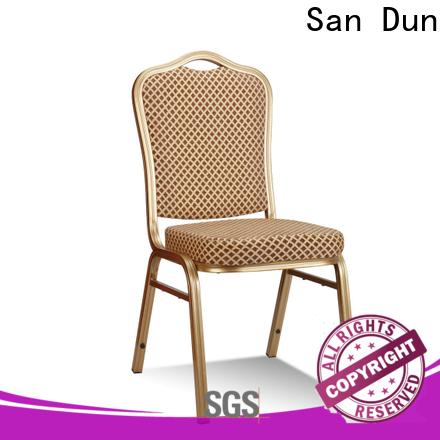 San Dun cheap aluminium banqueting chairs directly sale for meeting