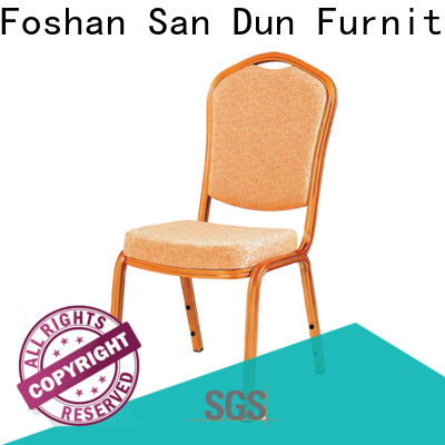 San Dun aluminium garden chairs supply for coffee shop