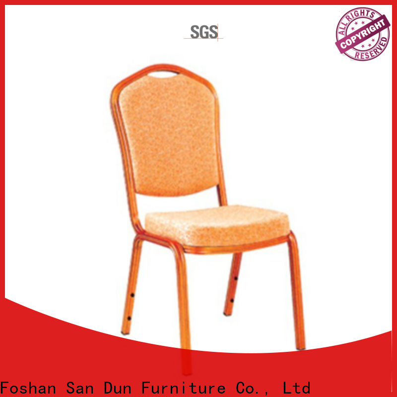 San Dun aluminum banquet chairs supply for sale