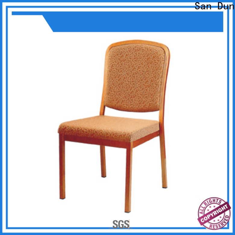 hot-sale commercial aluminum chairs from China for hotel banquet