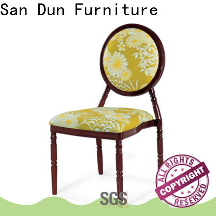 San Dun latest aluminum dining room chairs supplier for restaurant
